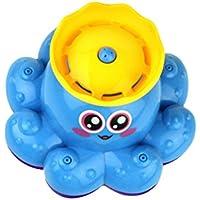 TOYMYTOY お風呂用おもちゃ 知育玩具 回転 赤ちゃん用 噴水 電子スプレーヤー