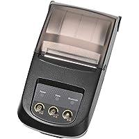 Nyear 58MM bluetooth プリンター レシート BLE4.0によるワイヤレス接続 NP100 レシート プリンター USBおよびBluetooth接続付き スマホアプリ 付き印字繊細 きれい(ブラック)