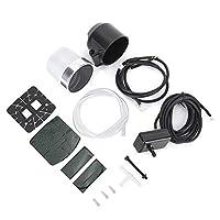 Gorgeriターボ圧力計、車ターボ・ブーストゲージメーターカラフルなボタン-30-30 PSIユニバーサル変更された部品2インチ