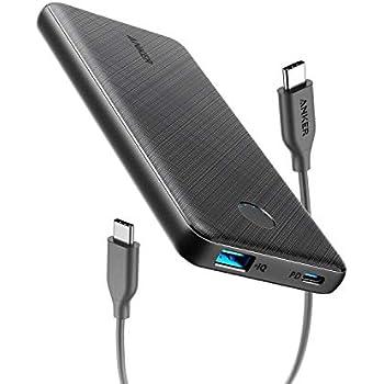 【改善版】Anker PowerCore Slim 10000 PD(モバイルバッテリー 10000mAh PD対応 大容量)【PSE認証済/Power Delivery対応/低電流モード搭載】 iPhone & Android 各種対応