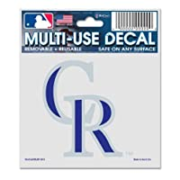 WinCraft MLB コロラドロッキーズ 84402010 多目的デカール 3インチ x 4インチ