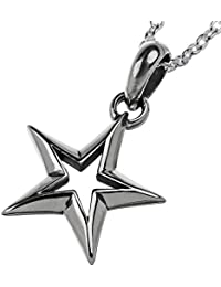 Binich(ビニッチ) スター フレーム ペンダント (トップのみ) ネックレス メンズ 星