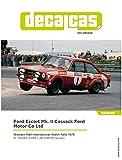 スポットモデル 1/24 デカールキャスシリーズ フォード・エスコートMk.II コサック・フォード・モーター 1975 ウエスタン・メイル・インターナショナル ウェールズラリー デカールセット プラモデル用デカール DCL-DEC029