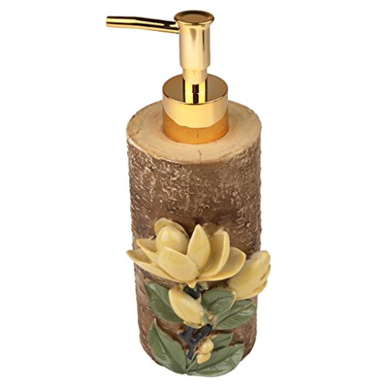 一回プレフィックスリル液体ソープ シャンプー用 空 シャンプー ボトル 詰め替えボトル 美しい エレガント デザイン 全4種類 - #4