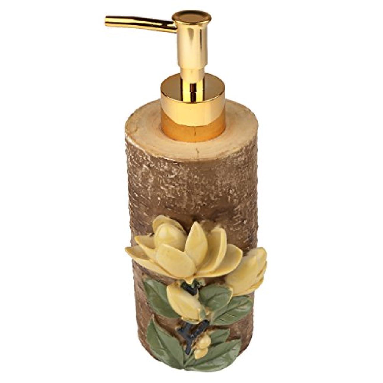 統治する盗難頑固な液体ソープ シャンプー用 空 シャンプー ボトル 詰め替えボトル 美しい エレガント デザイン 全4種類 - #4