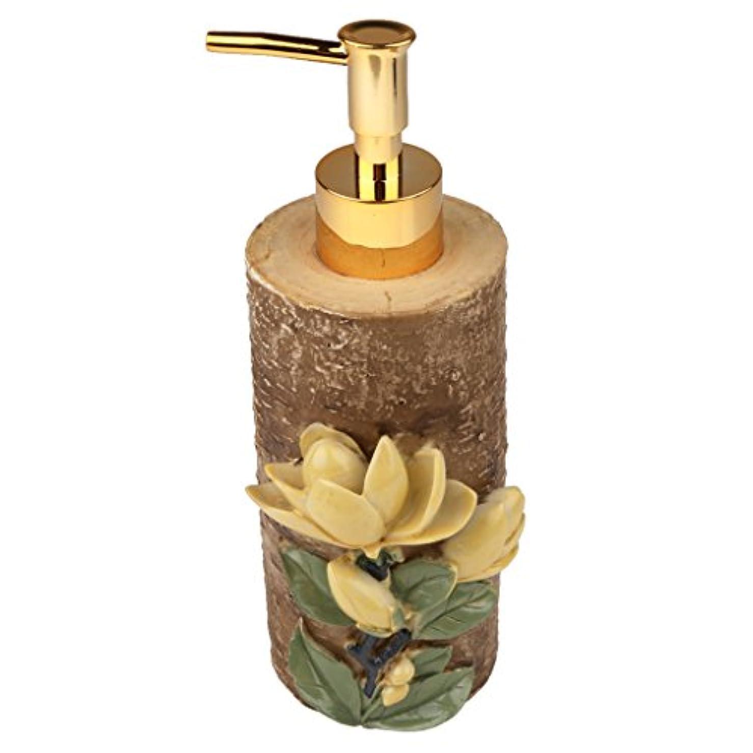 機構かわいらしい自明液体ソープ シャンプー用 空 シャンプー ボトル 詰め替えボトル 美しい エレガント デザイン 全4種類 - #4