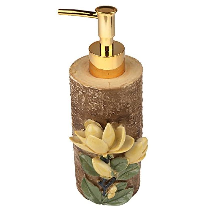 コンパニオン盆地対称液体ソープ シャンプー用 空 シャンプー ボトル 詰め替えボトル 美しい エレガント デザイン 全4種類 - #4