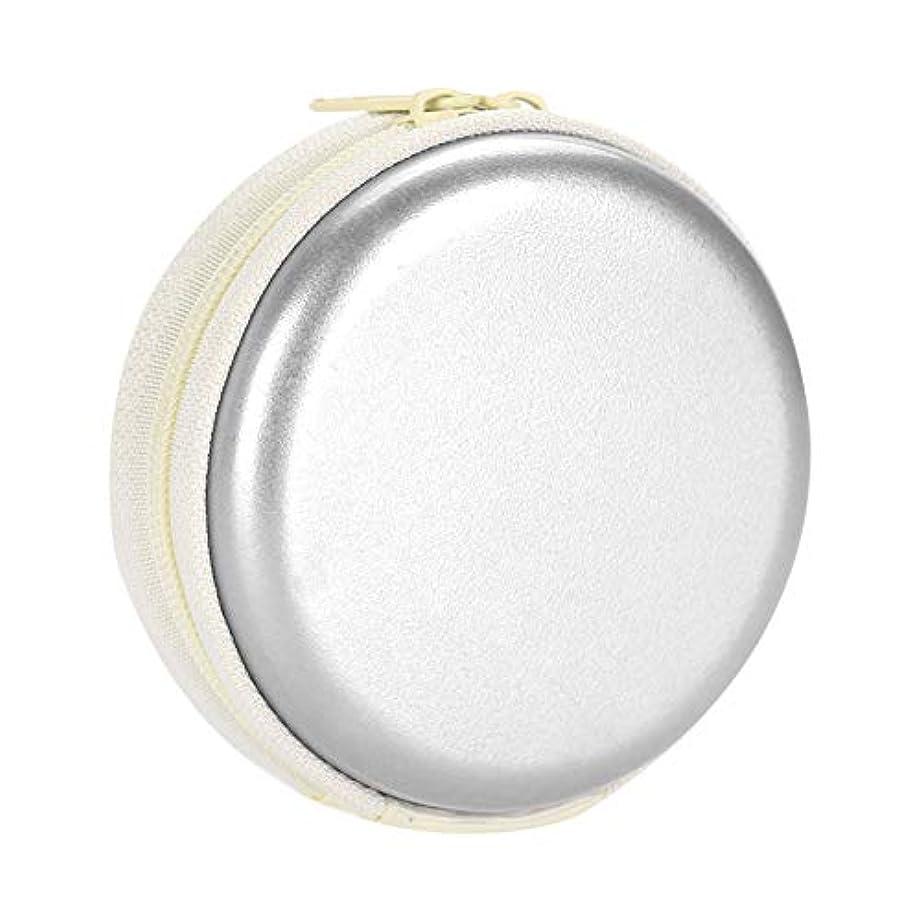 誠意うそつき競争力のあるエッセンシャルオイルキャリングケーストラベルキャリアコンテナコンパクト&ポータブルオイルバッグ保護外装ハードシェル付き外装ストレージ(Silver)