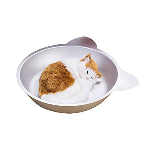 暑さ対策 ネコナベ ねこなべ マルカン ひんやりクール猫鍋ジャンボ かわいいネコ型フォルムの猫鍋 猫 なべ 猫用ベッド