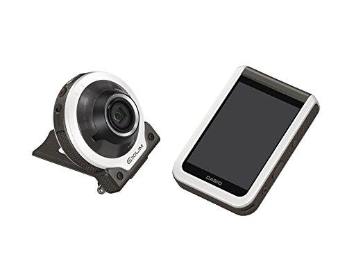 CASIO デジタルカメラ EXILIM EX-FR100WE カメラ部/モニター部分離 フリースタイルカメラ EXFR100 ホワイト