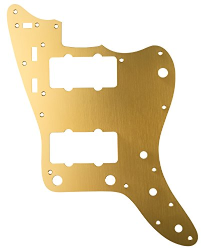 Fender ピックガード Classic 60s Jazzmaster 12-Hole 1-Ply Gold Anodized (Made in Japan Model)