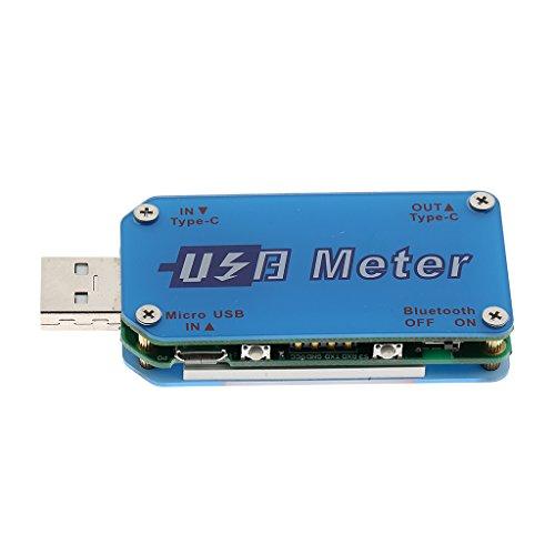 UM25 UM25C USB2.0 Type-C LCD電圧計電流計電圧電流計テスター