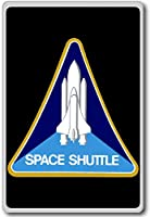Space Shuttle - Program Insignia - Miscellaneous Space Shuttle Patches Insignia fridge magnet - 蜀キ阡オ蠎ォ逕ィ繝槭げ繝阪ャ繝