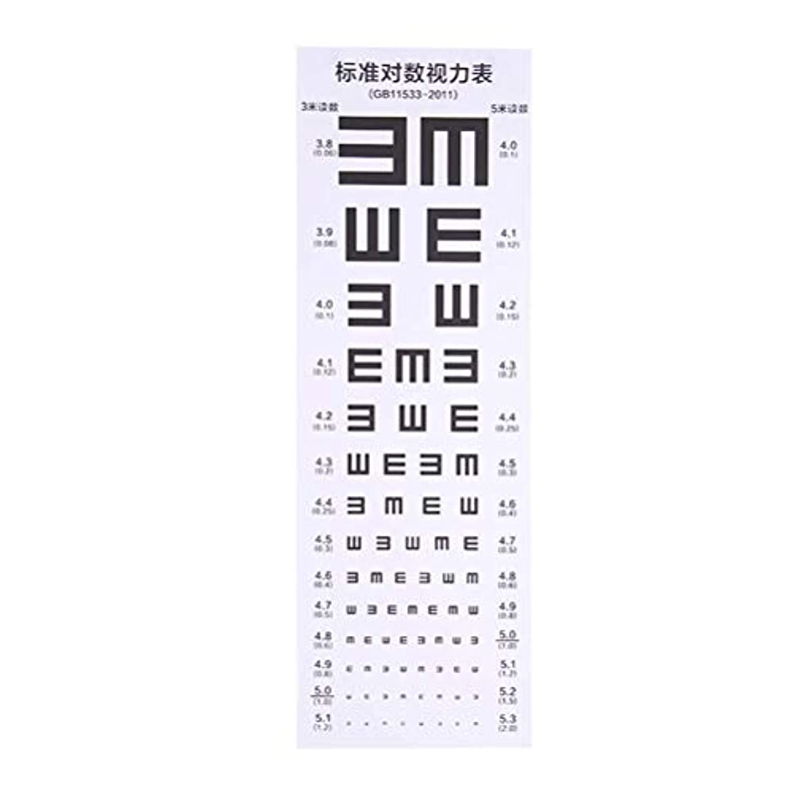 Healifty アイチャート防水目視検査チャート