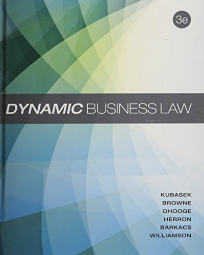 Download Dynamic Business Law 0078023785