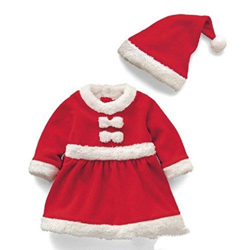OUYOU クリスマス 衣装 コスプレ ミニサンタ お子様 ...