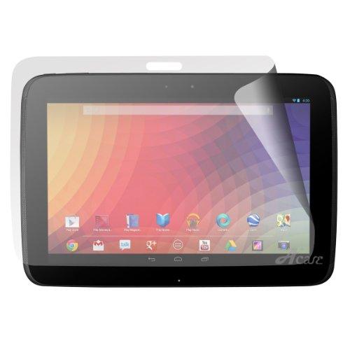 Acase Nexus10 フィルム スクリーンプロテクター for google Nexus 10 ハードコーティング タイプ ( 保護フィルム 3枚入り )