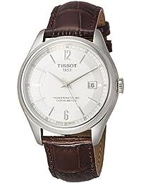 [ティソ] TISSOT 腕時計 バラード オートマティック COSC パワーマティック80 シルバー文字盤 ブラウンレザー T1084081603700 メンズ 【正規輸入品】