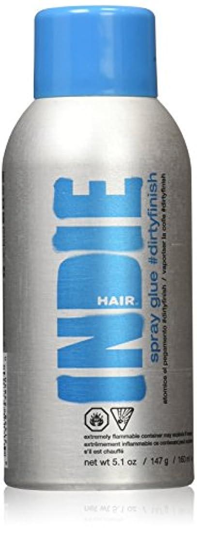 動的ケープ首尾一貫したIndie Hair ダーティフィニッシュスプレーのり、5.1オンス 5.1オンス