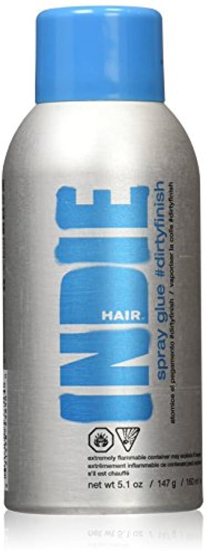 絡まる拒絶する用心深いIndie Hair ダーティフィニッシュスプレーのり、5.1オンス 5.1オンス