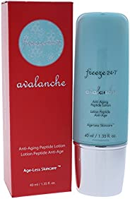 Freeze 24.7 Avalanche Anti-Aging Peptide Lotion Womens Skin Care, 40 ml