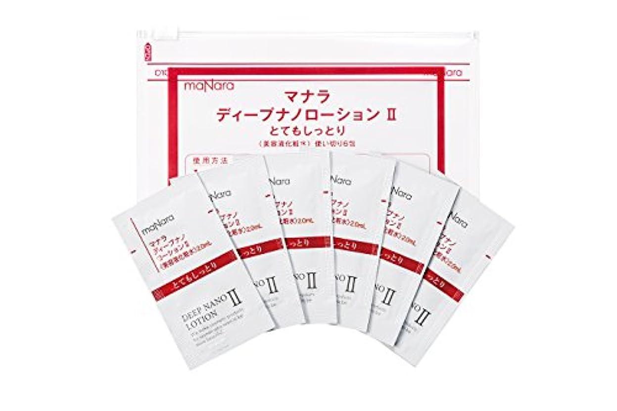 石鹸石膏式ディープナノローション2(しっとりタイプ)使い切り6包