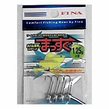 ハヤブサ(Hayabusa) FINA メバル専用ジグヘッド まっすぐ #6/1.25g FS200-6-1.25