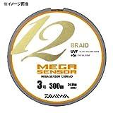 ダイワ(Daiwa) ライン メガセンサー 12ブレイド  300m  4.0号