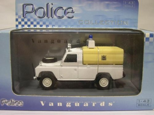 Vanguards 1/43 VA07604 LAND ROVER Met. Traffic Accident Car