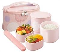 象印 ( ZOJIRUSHI  ) 保温弁当箱 【茶碗約1杯分】 SZ-GC02-PD レースピンク