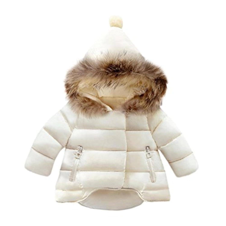 GALAXYONEベビー服 子供服 男の子 女の子 コート 長袖 厚手 フード付き 秋冬 ジャケット 防寒 アウター 上着 赤ちゃん服 普段着 旅行 プレゼント 80-130CM