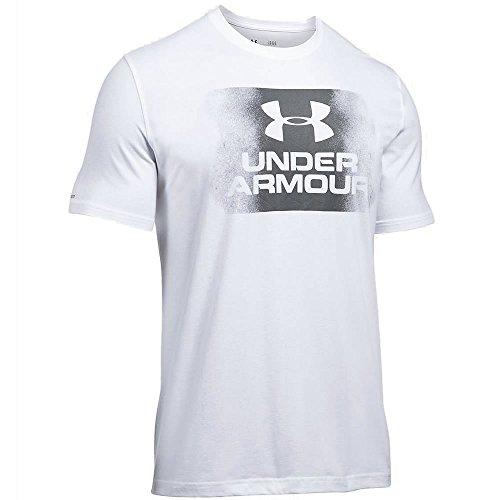 (アンダーアーマー)UNDER ARMOUR Tシャツ Overspray Logo T-Shirt 1289894 ホワイト 100 XL