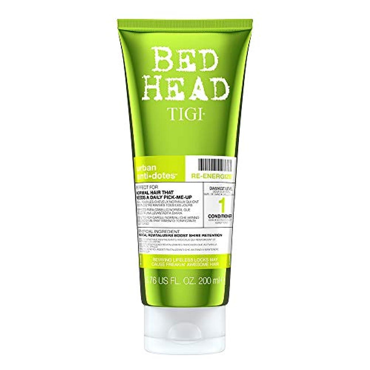 検証同封する危険なTigi Bed Head Re-Energize Conditioner 200 ml (並行輸入品)
