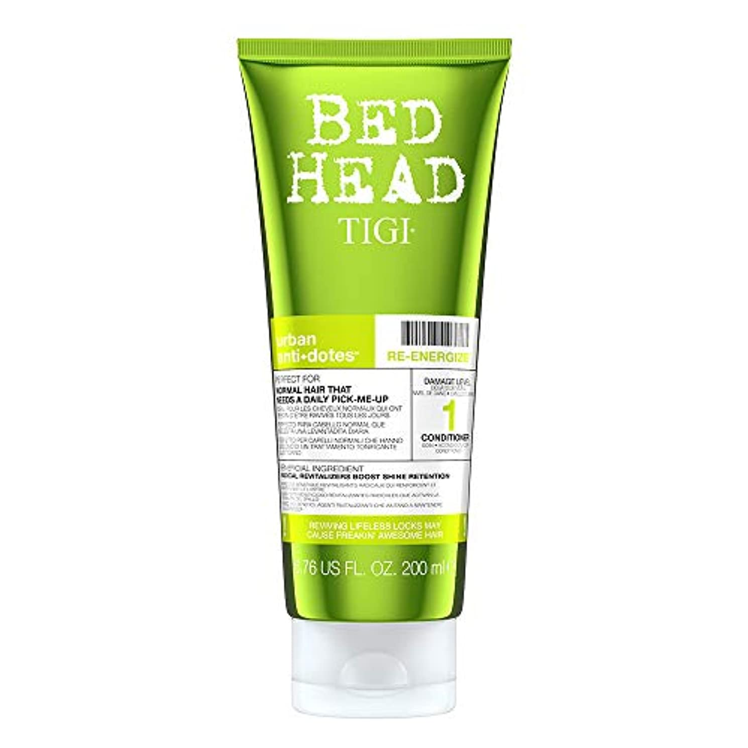 タンパク質天皇調整するTigi Bed Head Re-Energize Conditioner 200 ml (並行輸入品)