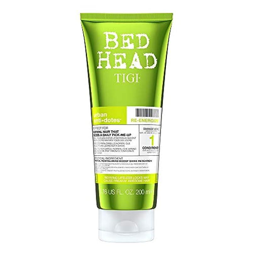 伝導旅行者話Tigi Bed Head Re-Energize Conditioner 200 ml (並行輸入品)
