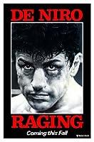 RAGING BULL-ROBERT DE NIRO –インポートされた映画の壁ポスター印刷– 30CM X 43CM新品