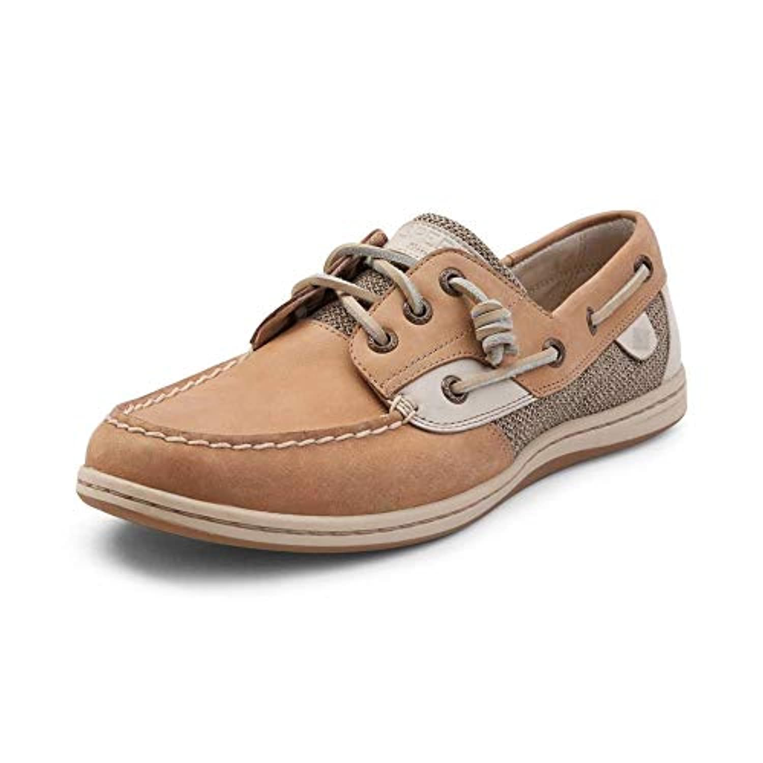 (スペリートップサイダー) SPERRY TOPSIDER 靴?シューズ レディースサンダル Womens Sperry Top-Sider Songfish Boat Shoe Linen/Oat Linen/Oat...