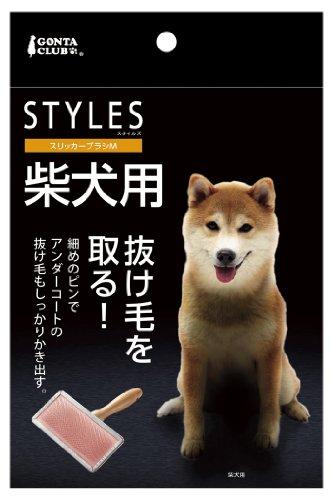 マルカン スタイルズ スリッカーブラシ 柴犬用 M DP-696