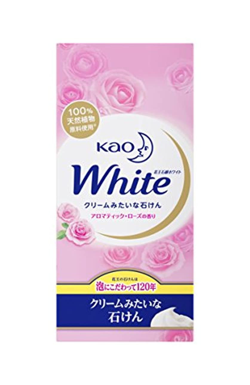 エリートハリケーンガソリン花王ホワイト アロマティックローズの香り 普通サイズ 6コパック