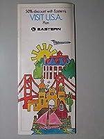 aG観光パンフイースタン航空 アメリカ旅行 昭和43年日本語