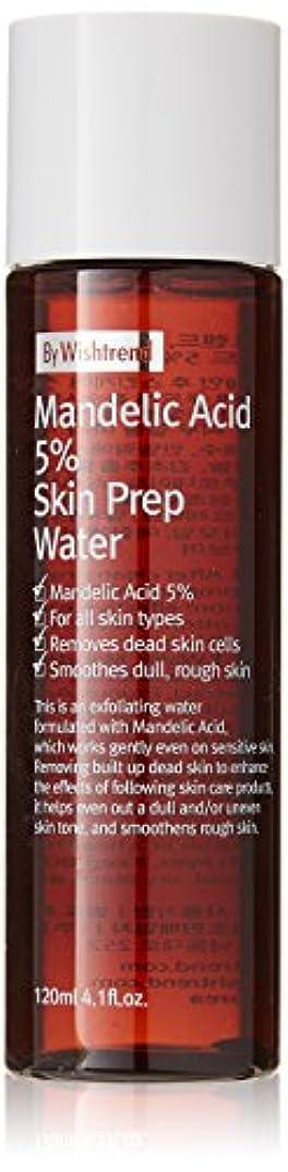 麦芽始まり絶対のBY WISHTREND(バイウィッシュトレンド) マンデル酸5%スキンプレンプウォーター, Mandelic Acid 5% Skin Prep Water 120ml [並行輸入品]