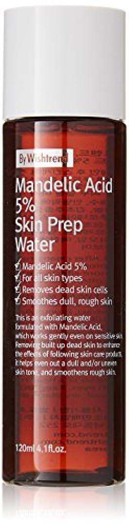 染料台風メガロポリスBY WISHTREND(バイウィッシュトレンド) マンデル酸5%スキンプレンプウォーター, Mandelic Acid 5% Skin Prep Water 120ml [並行輸入品]