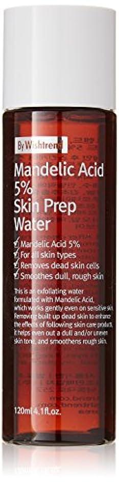 消去予測留まるBY WISHTREND(バイウィッシュトレンド) マンデル酸5%スキンプレンプウォーター, Mandelic Acid 5% Skin Prep Water 120ml [並行輸入品]