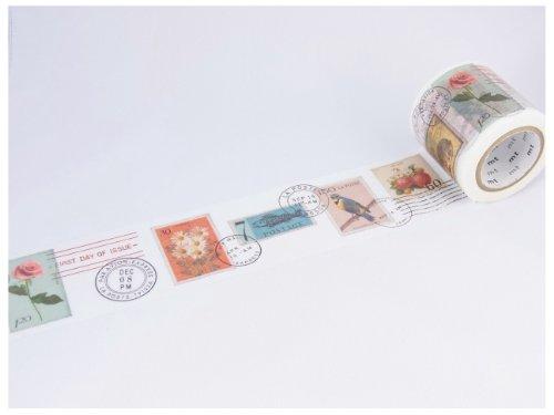 カモ井加工紙 マスキングテープ 45MM幅×10M巻 MTEX1P27 Mt ex 切手