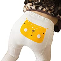 子供 漫画 パンツ レギンス パンティーストッキング おもしろい 秋物 女の子 人気(0ヶ月-4歳)洋子ちゃん (ホワイト, 【S/0-12ヶ月】)