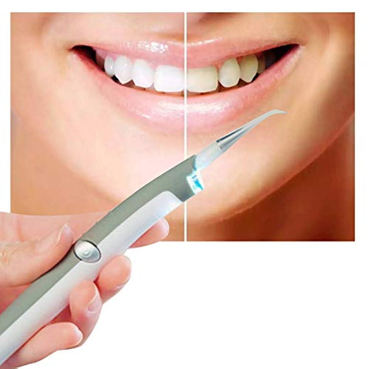 驚勝利した熟達ixaer LED歯科用ツールキット ソニック 音波振動 歯科用ポリッシャー 歯間クリーナー ステインバスター 歯垢や歯石などを予防 歯の汚れ消しゴム オーラルケア クリーニングツール