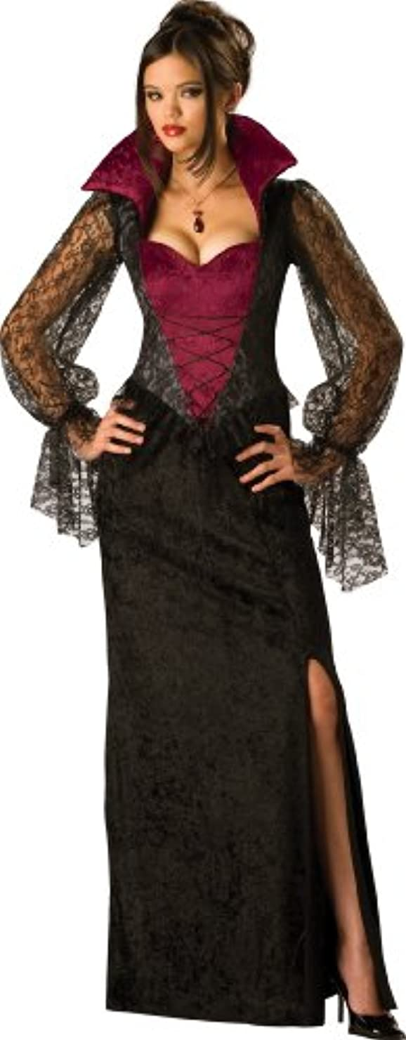 疑わしいコピーストレンジャーIncharacter Costumes IC11001-S Adult Midnight Vampiress Costume Size Small