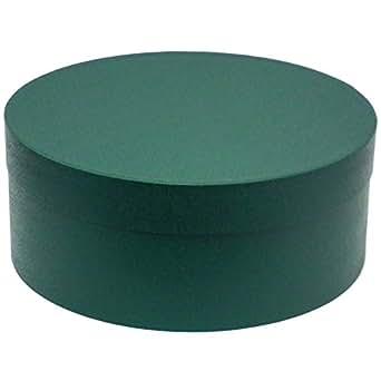 ハッピーハット 帽子 収納箱 大切な帽子の管理に…HAT BOX グリーン box-014-02