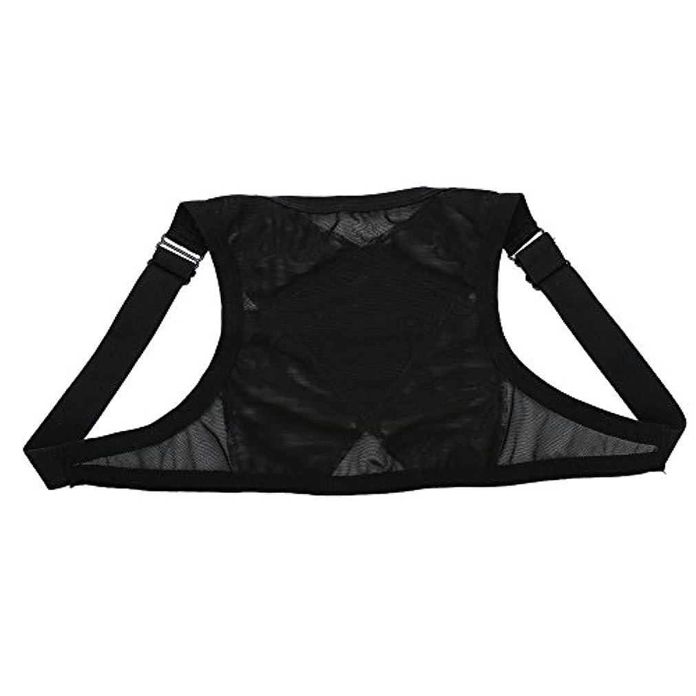 乳絶えずティッシュ姿勢矯正具、整形外科用矯正具、肩の体位の矯正、整形外科用こぶの軽減のための包帯矯正具、青年用(L)