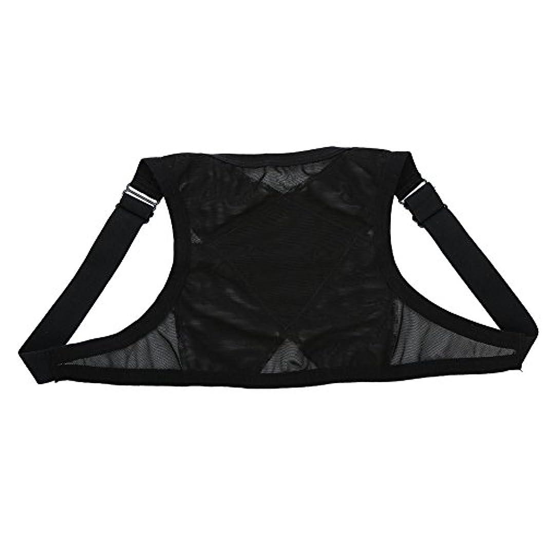 姿勢矯正具、整形外科用矯正具、肩の体位の矯正、整形外科用こぶの軽減のための包帯矯正具、青年用(L)